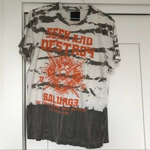 Men's Salvage Graphic T Shirt